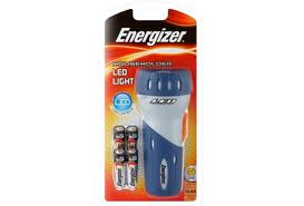 Energizer Compact LED Flashlight Incl 4xAA