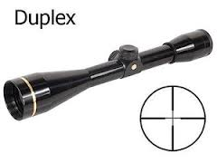Leupold FX3 6x42mm Gloss Duplex Riflescope 66805