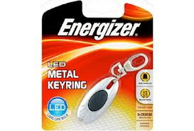 Energizer Hi-Tech LED Keychain Incl 2xCR2032
